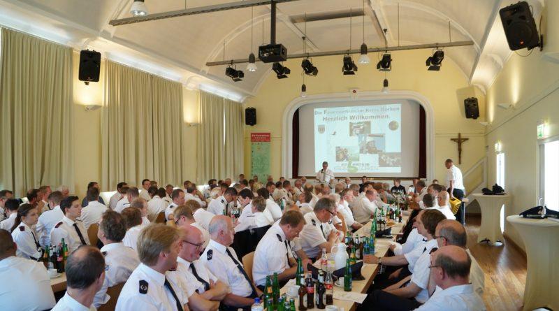05.06.2016: Delegiertentagung Kreisfeuerwehrverband Borken in Gescher