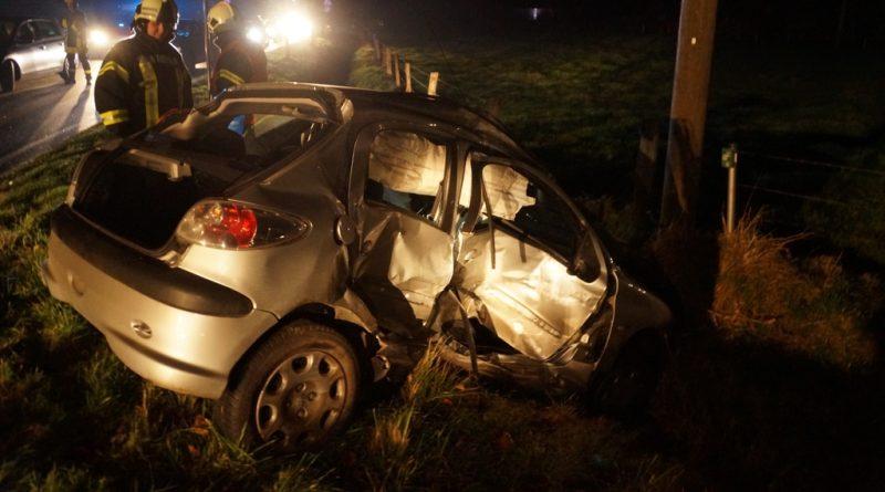 01.12.2016: Einsatz nach Verkehrsunfall