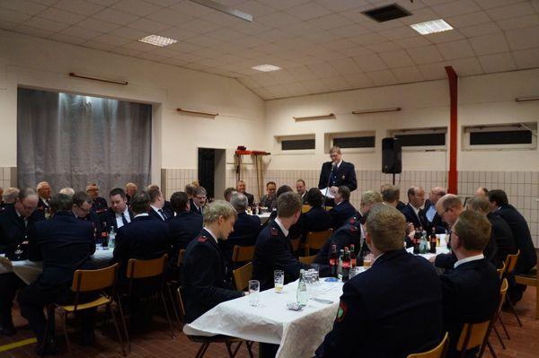 Löschzugversammlung in Hochmoor am 07.01.2016