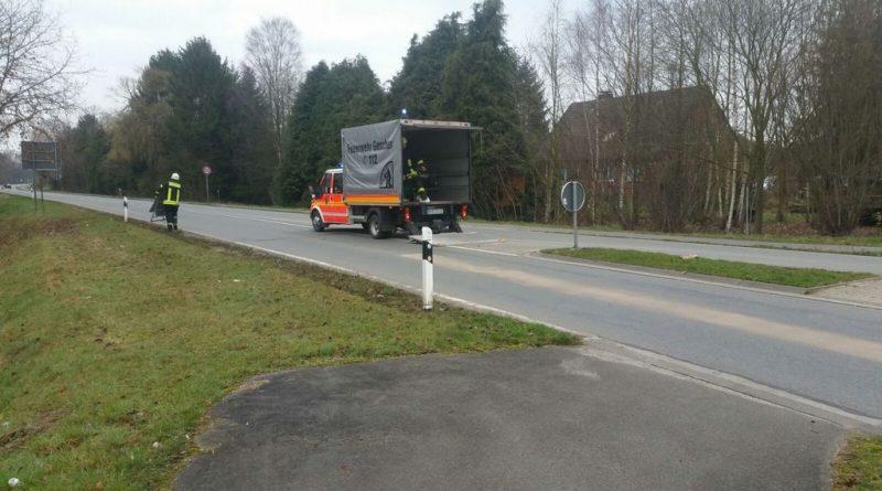 14.03.2017: Lange Dieselspur führt auch durch Gescher-Hochmoor