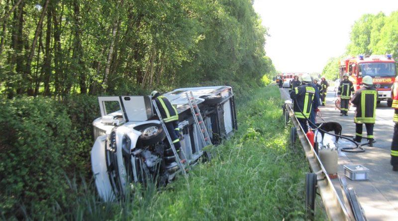 25.05.2017: Verkehrsunfall mehrere verletzte Personen