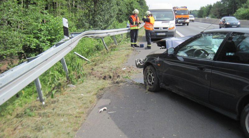 08.06.2017: Absichern nach Verkehrsunfall auf der A 31