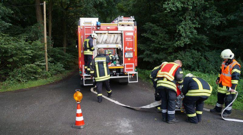 14.07.2017 – Feuerwehr testet Fahrzeug