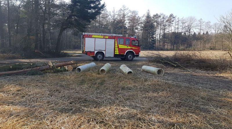 02.03.2018: Verdächtiger Rauch auf Feld