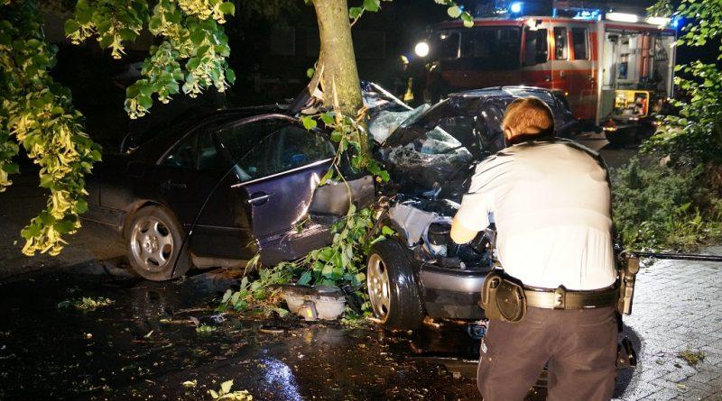 31.05.2018: schwerer Verkehrsunfall auf der Bahnhofstraße