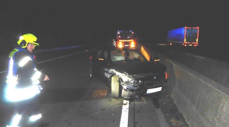 02.11.2018: Unfall auf der A31