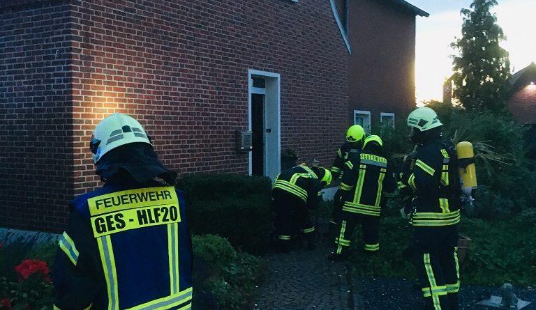 19.06.2019: Küchenbrand schnell gelöscht