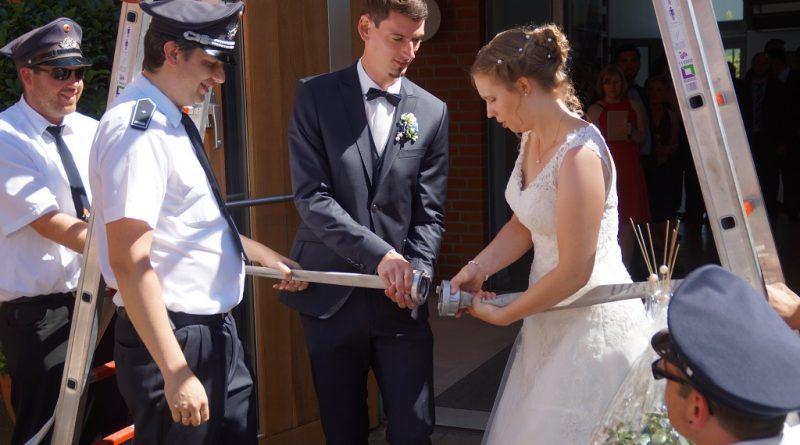 29.06.2019 Spalier Hochzeit Daniela und Phillipp Effkemann