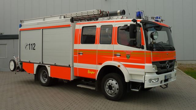 28.09.2020: Feuer in Maschine