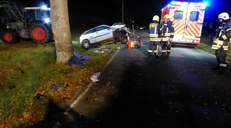 10.11.2019: Verkehrsunfall auf der alten Coesfelder
