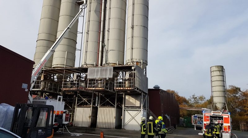 14.11.2019: Feuer in Silo