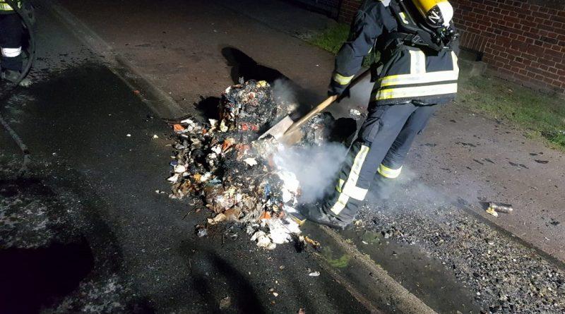 27.06.2020: Mülltonnenbrand