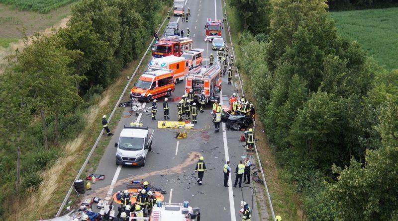 30.06.2020: Schwerer Verkehrsunfall L 608