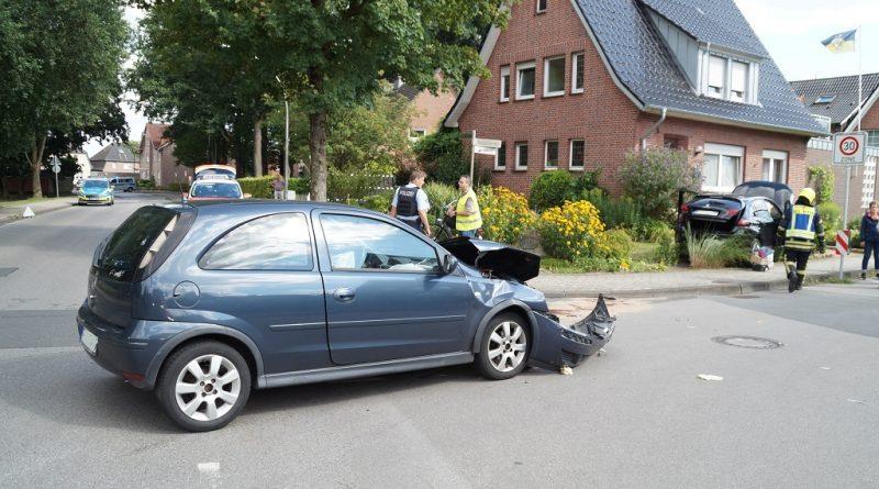 29.07.2020: Unfall auf der Riete/Schultenrott