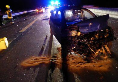 28.10.2020: Verkehrsunfall auf der A31