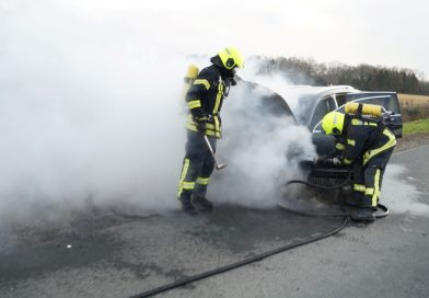 26.12.2020: Fahrzeugbrand auf BAB31