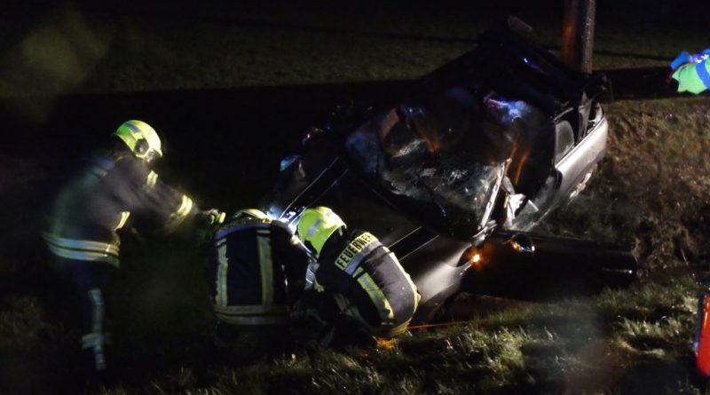 21.01.2021: Verkehrsunfall zwischen PKW und Pferd