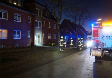 28.02.2021: Brandeinsatz auf der Armlandstraße