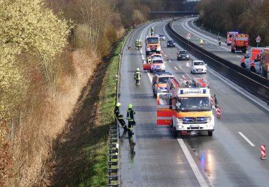 27.03.2021: Verkehrsunfall auf der BAB 31