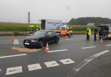 19.08.2021: Hilfe nach Verkehrsunfall