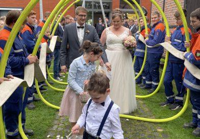 28.08.2021: Hochzeitsspalier