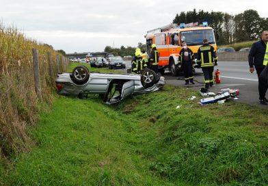 16.10.2021: Verkehrsunfall auf der A 31